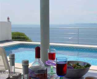 Spanish Villa Rental With Pool And Costa Brava Sea View